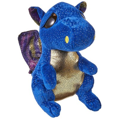 Ty Ty Beanie Boo Medium Saffire Dragon Blue