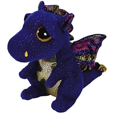 Ty Ty Beanie Boo Regular Saffire Dragon Blue