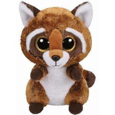 Ty Ty Beanie Boo Medium Rusty Racoon