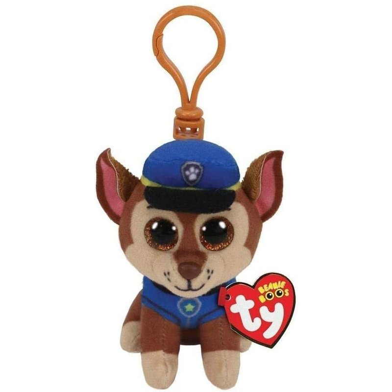 Ty Beanie Clip Paw Patrol Chase