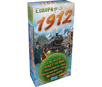 Ticket to Ride Game Expansion: 1912 Europa