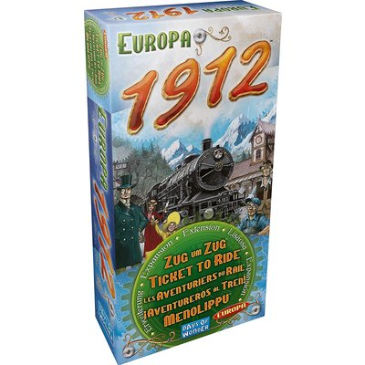 Days of Wonder Ticket to Ride Game Expansion: 1912 Europa