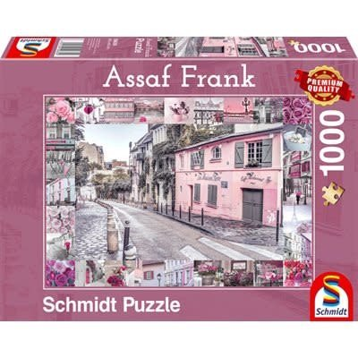 Schmidt Puzzle 1000pc Romantic Journey