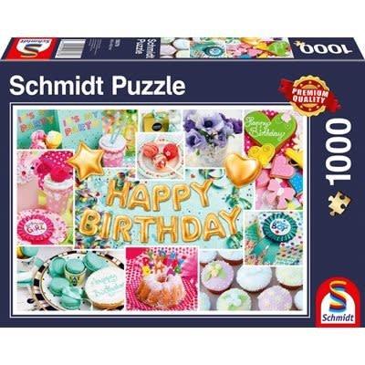 Schmidt Puzzle 1000pc Happy Birthday