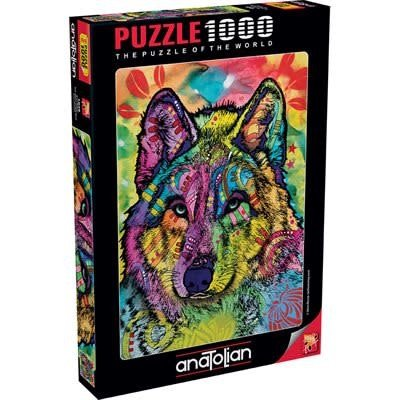 Anatolian Puzzle 1000pc The Stare of the Wolf