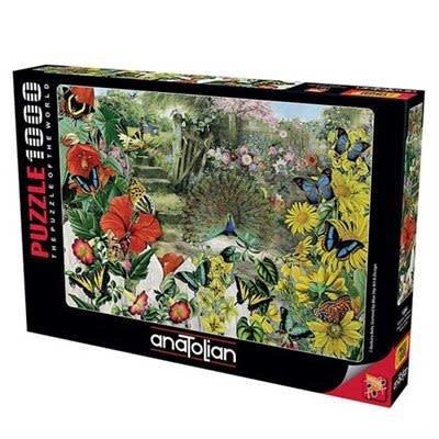 Anatolian Puzzle 1000pc Peacock in the Garden