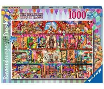 Ravensburger Puzzle 1000pc The Greatest Show on Earth