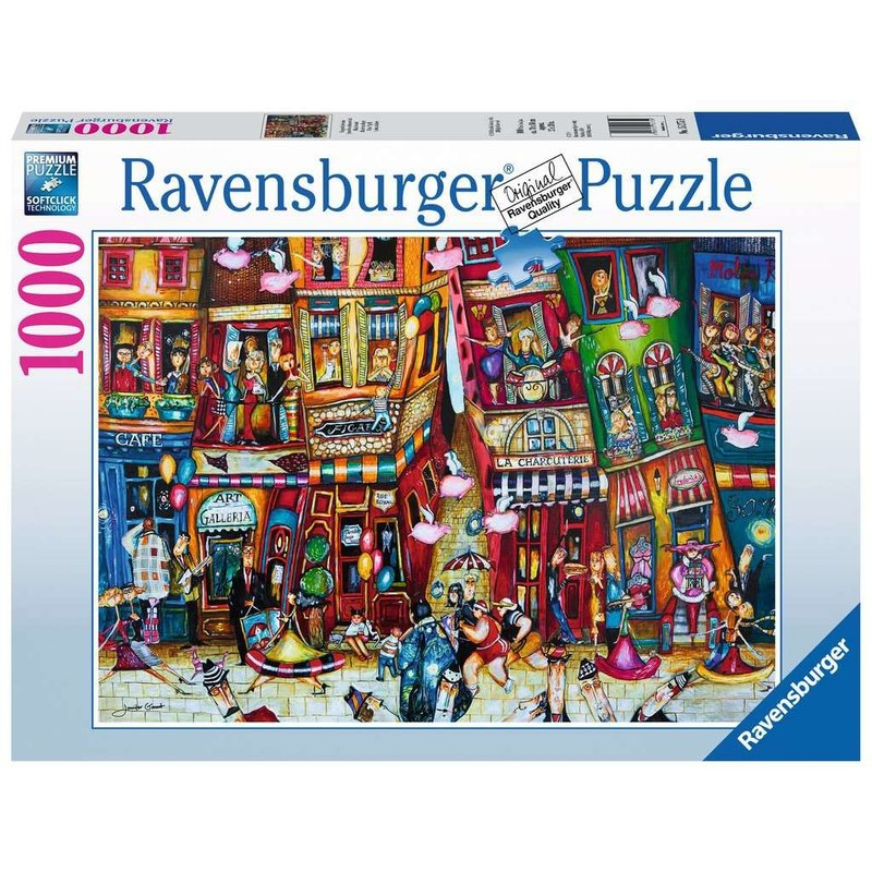 Ravensburger Ravensburger Puzzle 1000pc When Pigs Fly