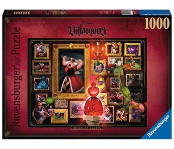 Ravensburger Puzzle 1000pc Villainous Queen of Hearts