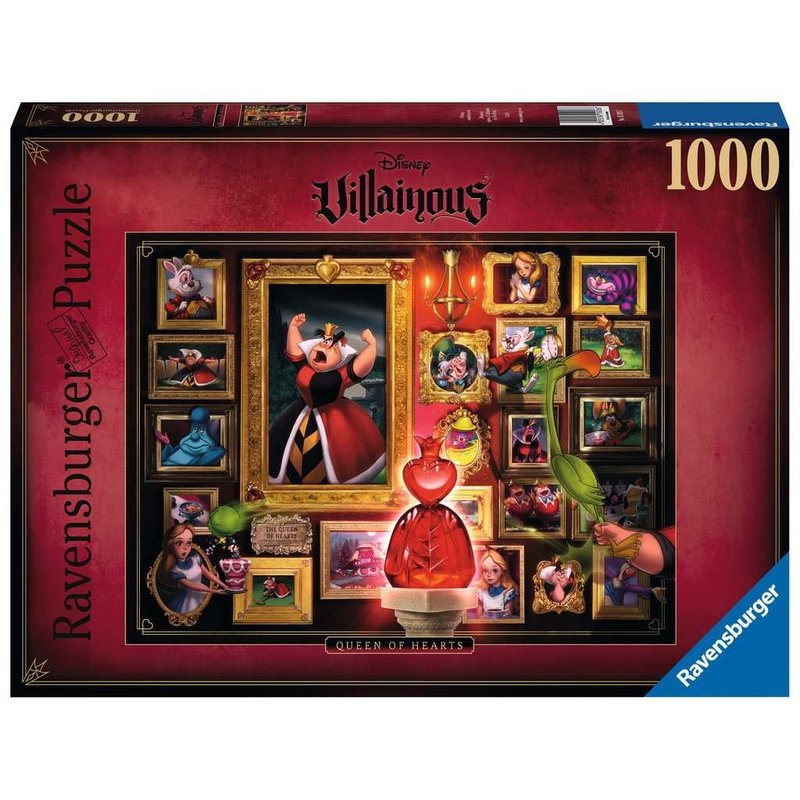 Ravensburger Ravensburger Puzzle 1000pc Villainous Queen of Hearts
