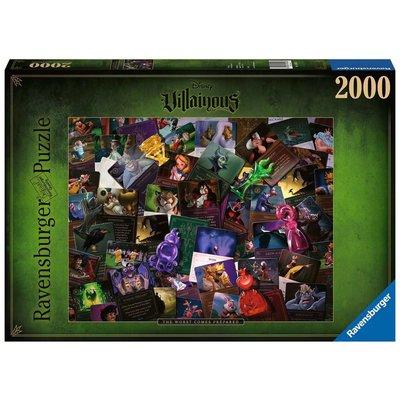 Ravensburger Ravensburger Puzzle 2000pc Villainous All