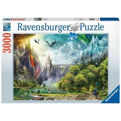 Ravensburger Ravensburger Puzzle 3000pc Reign of Dragons