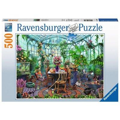 Ravensburger Ravensburger Puzzle 500pc Greenhouse Morning
