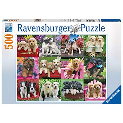 Ravensburger Ravensburger Puzzle 500pc Puppy Pals