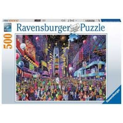 Ravensburger Puzzle 500pc New Years in Time Square