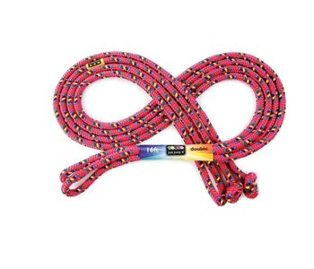 Just Jump It Skipping Rope 16' Confetti Red