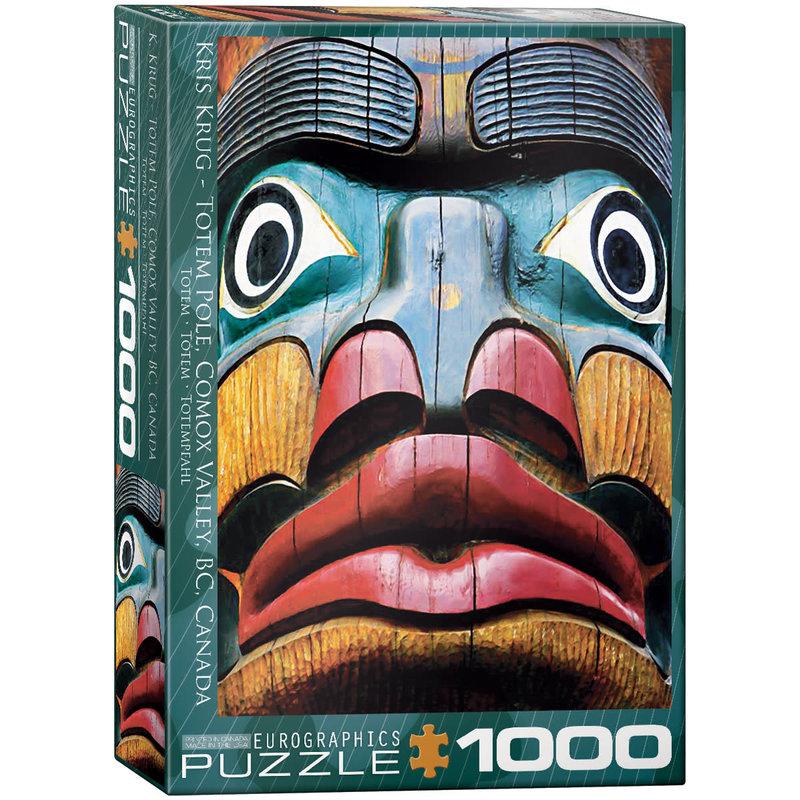 Eurographics Eurographic Puzzle 1000pc Totem Pole Comox Valley