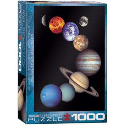 Eurographics Eurographic Puzzle 1000pc Nasa Solar System
