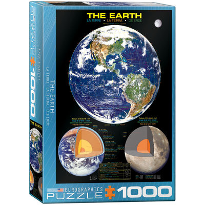 Eurographics Eurographic Puzzle 1000pc The Earth