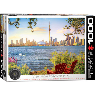 Eurographics Eurographic Puzzle 1000pc View from Toronto Island
