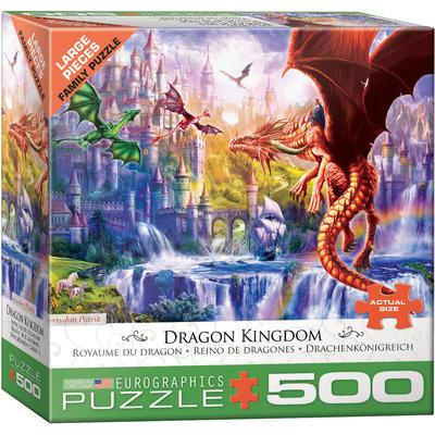 Eurographics Eurographic Puzzle 500pc Dragon Kingdom