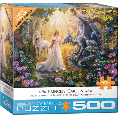 Eurographics Eurographic Puzzle 500pc Princess' Garden