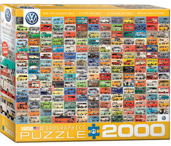 Eurographic Puzzle 2000pc VW Groovy Bus