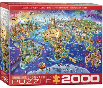 Eurographic Puzzle 2000pc Crazy World