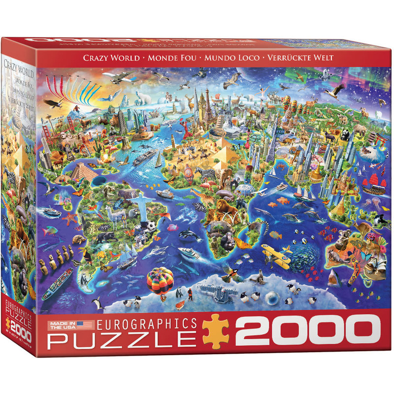 Eurographics Eurographic Puzzle 2000pc Crazy World