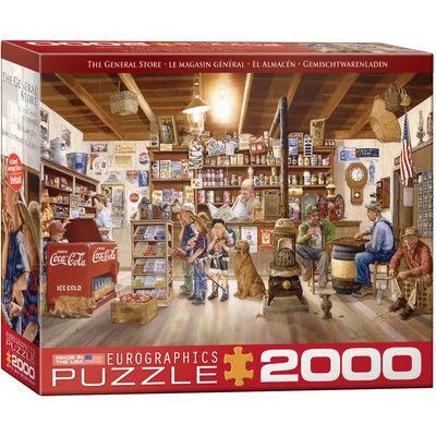 Eurographics Eurographic Puzzle 2000pc The General Store