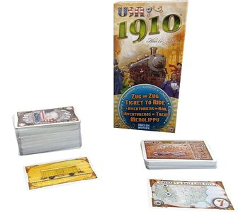 Ticket to Ride Game Expansion: 1910 USA