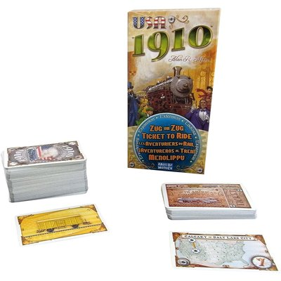 Days of Wonder Ticket to Ride Game Expansion: 1910 USA