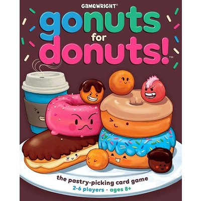 Gamewright Game Gonuts for Donuts