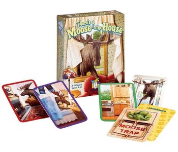 Gamewright Game There's a Moose in the House
