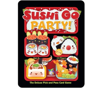 Gamewright Game Sushi Go Party
