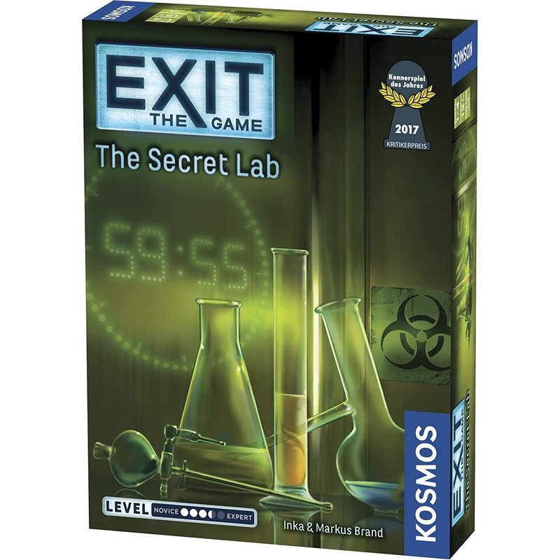 Exit Game: The Secret Lab (Level 3.5)