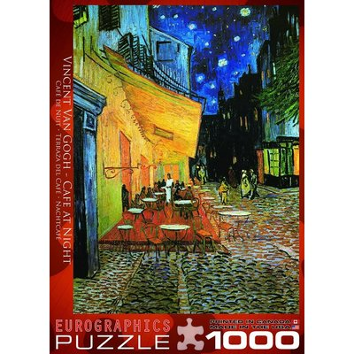 Eurographic Puzzle 1000pc Van Gogh Cafe Terrace at Night