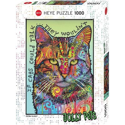 Heye Puzzle 1000pc If Cats Could Talk