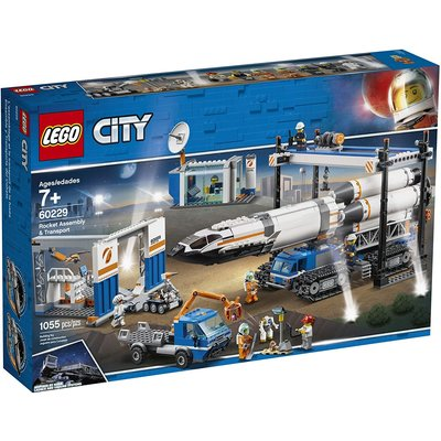 Lego Lego City Space Rocket Assembly & Transport