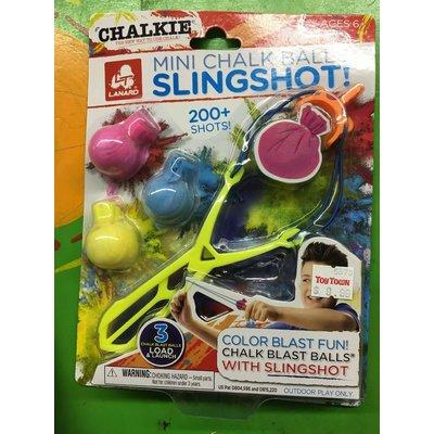 Chalkie Chalk Balls Mini Slingshot