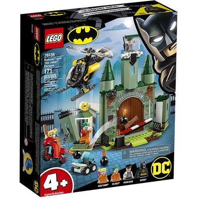 Lego Lego Super Heroes Batmam and the Joker Escape