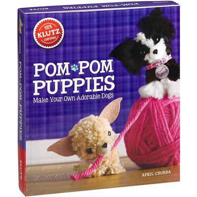Klutz Klutz Book Pom-Pom Puppies