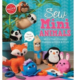 Klutz Klutz Book Sew Mini Animals