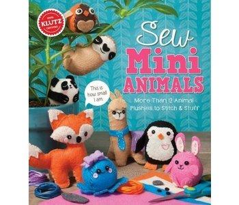 Klutz Book Sew Mini Animals