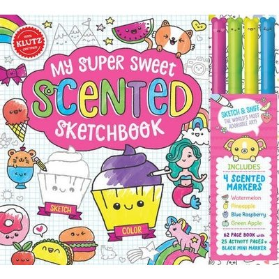Klutz Klutz Book My Super Sweet Scented Sketchbook