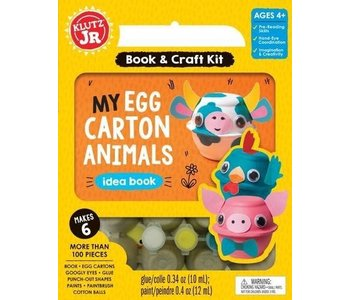 Klutz Book Jr My Egg Carton Animals