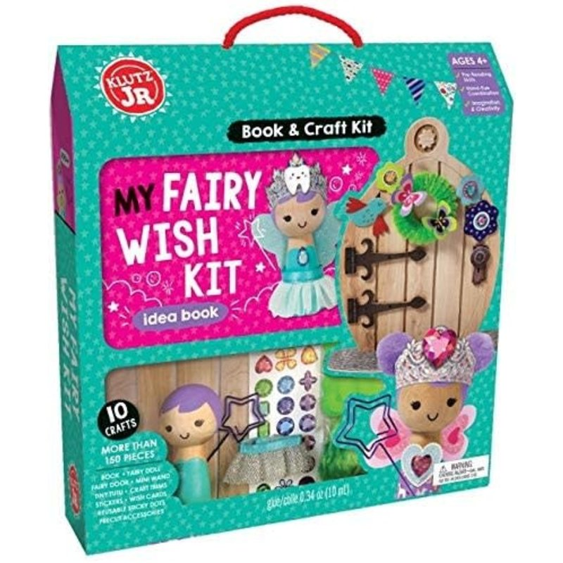 Klutz Klutz Book Jr My Fairy Wish Kit