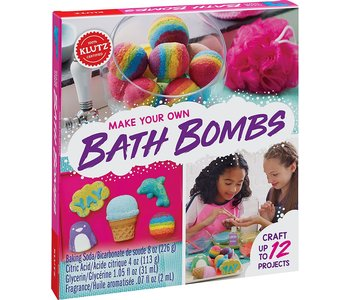 Klutz Book Make Your Own Bath Bombs