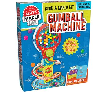 Klutz Book Gumball Machine