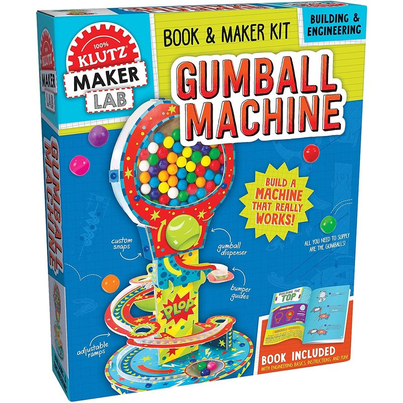 Klutz Klutz Book Gumball Machine